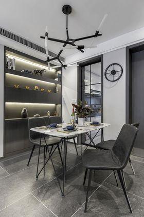 110平米四室两厅现代简约风格餐厅图