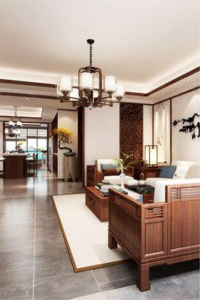 140平米四室四厅中式风格客厅图片