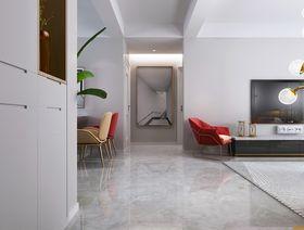 120平米三室兩廳現代簡約風格走廊設計圖