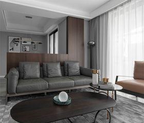 130平米三现代简约风格客厅图