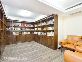 140平米别墅混搭风格书房图片