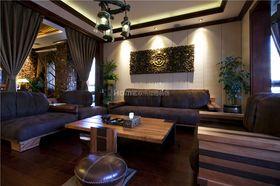 10-15万140平米复式东南亚风格客厅设计图