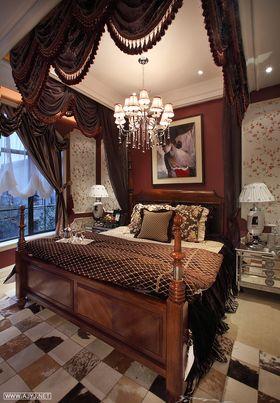 5-10万120平米三室一厅混搭风格儿童房图