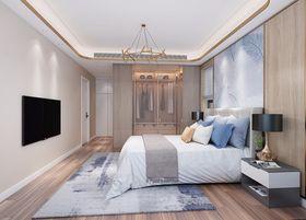 140平米復式現代簡約風格臥室裝修案例