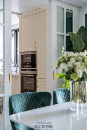 10-15万130平米三室两厅现代简约风格厨房图片大全