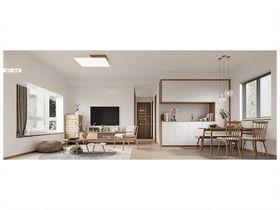 70平米三室两厅日式风格其他区域图