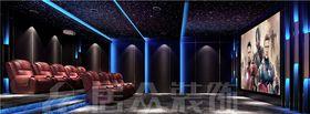 140平米別墅中式風格影音室圖片