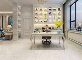 140平米别墅新古典风格书房装修图片大全