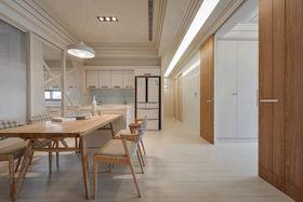 110平米三室两厅日式风格餐厅效果图