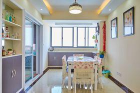 富裕型130平米三室两厅现代简约风格厨房装修图片大全