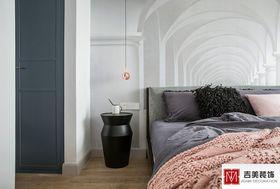 80平米三北欧风格卧室设计图