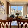 3-5万120平米三室两厅现代简约风格餐厅装修效果图