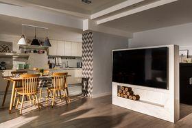 140平米复式北欧风格厨房设计图