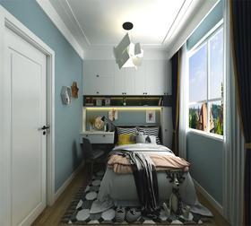 110平米三北欧风格卧室设计图