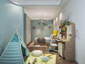130平米四室两厅现代简约风格儿童房效果图