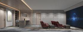 140平米复式日式风格影音室图