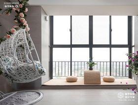 120平米三室两厅美式风格阳光房图