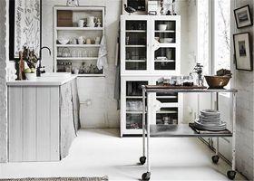 60平米公寓北欧风格厨房图