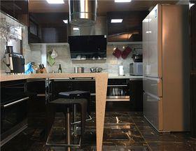 富裕型140平米三室两厅现代简约风格厨房欣赏图