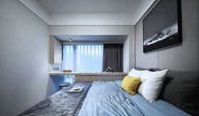 80平米三室两厅中式风格卧室图片
