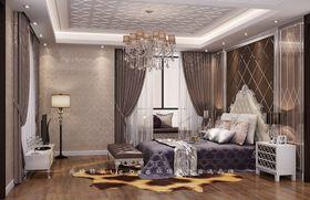 140平米别墅新古典风格卧室鞋柜装修案例