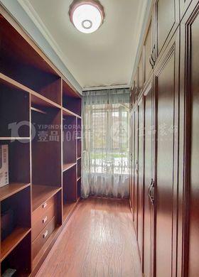 120平米三室两厅中式风格书房装修效果图