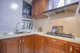 90平米三室两厅中式风格厨房装修图片大全