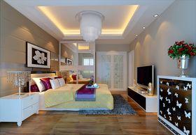 富裕型120平米四室两厅现代简约风格卧室装修案例