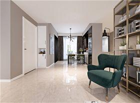 140平米三室兩廳現代簡約風格玄關裝修案例