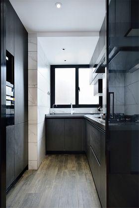80平米三现代简约风格厨房图