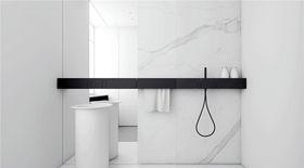 140平米四室一廳現代簡約風格衛生間裝修案例