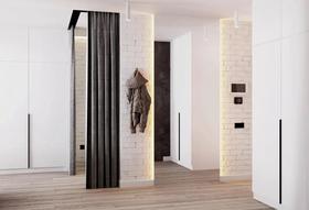 40平米小户型现代简约风格阳台设计图