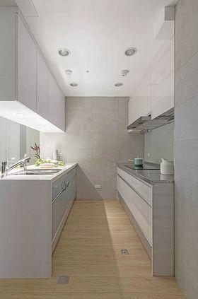80平米三室兩廳混搭風格廚房裝修效果圖
