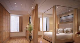 110平米三东南亚风格卧室效果图