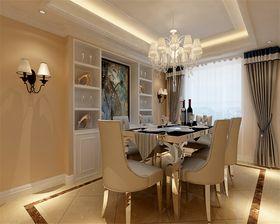 经济型140平米现代简约风格餐厅设计图