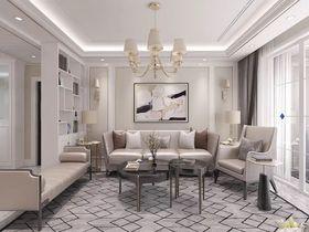 130平米四欧式风格客厅图片大全