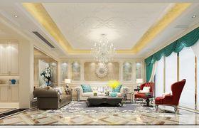 140平米四室两厅欧式风格客厅图片