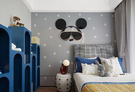 120平米三现代简约风格儿童房装修案例