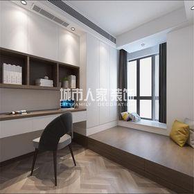 100平米三室兩廳現代簡約風格臥室設計圖