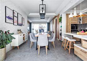 140平米四室两厅北欧风格餐厅图片