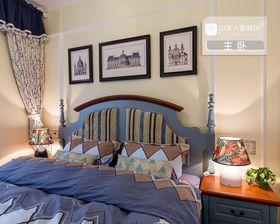 90平米地中海风格卧室图片
