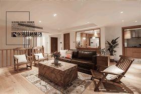 豪华型140平米别墅北欧风格客厅欣赏图