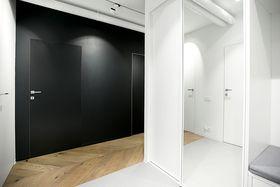 60平米北欧风格玄关装修案例