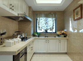 富裕型90平米三室两厅现代简约风格厨房装修案例
