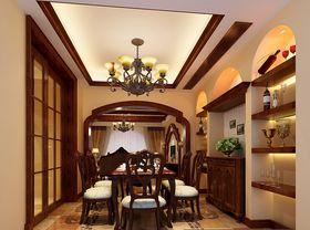140平米美式风格餐厅设计图