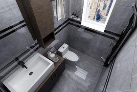 80平米三现代简约风格卫生间图片