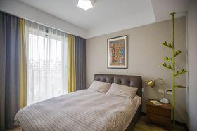 140平米三室两厅现代简约风格卧室装修效果图