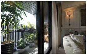 10-15万110平米三室两厅美式风格阳台图片