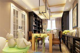140平米別墅混搭風格書房家具圖片