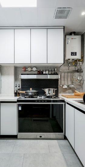 100平米三室两厅现代简约风格厨房欣赏图